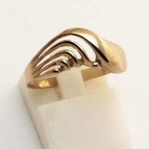 кольцо без вставок