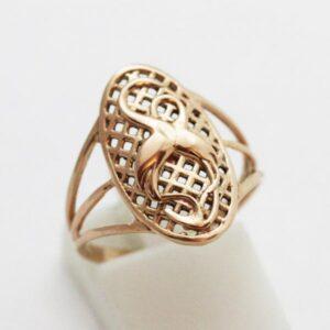 кольцо без вставок «Журавли»
