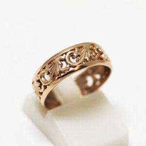 кольцо обр с рисунком